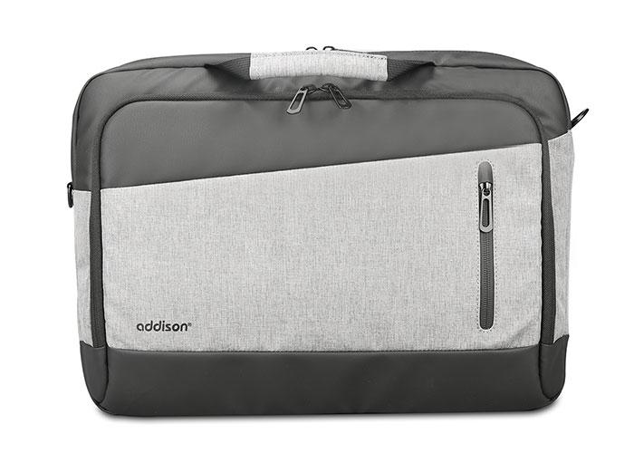 Addison 300998 15.6 Gri/Siyah Bilgisayar Notebook Çantası