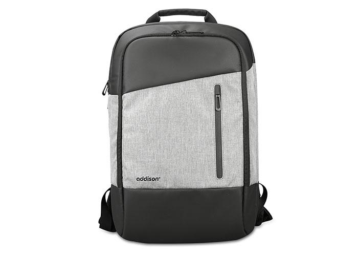 Addison 301000 14 Gri/Siyah Notebook Sırt Çantası