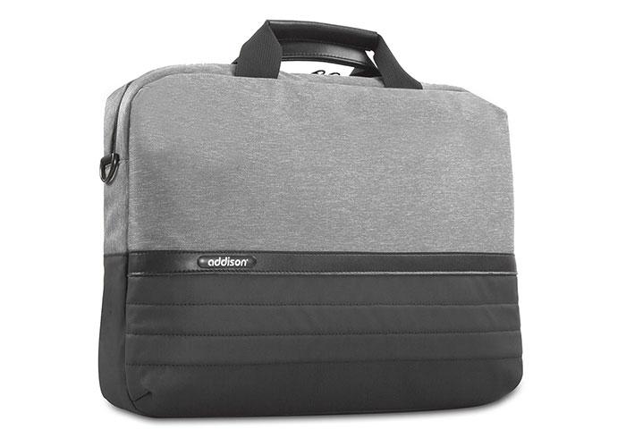 Addison 301001 15.6 Gri/Siyah Bilgisayar Notebook Çantası