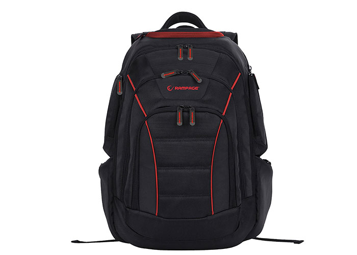 Addison Rampage 301006 15.6 Black / Red Multifunctional Player Notebook Backpack