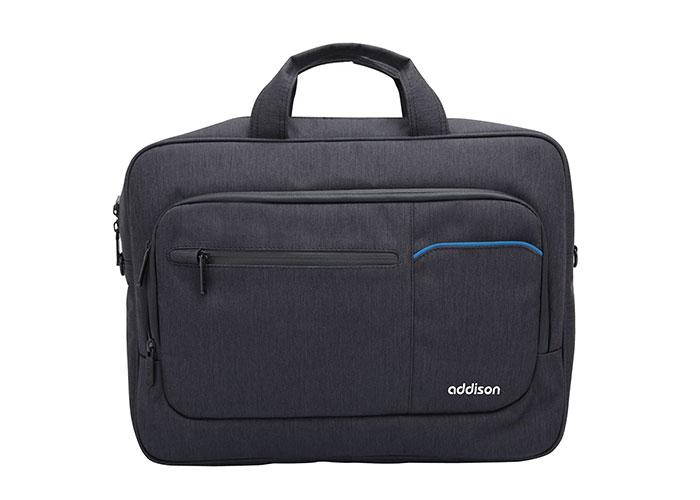 Addison 301007 15.6 Black Notebook Bag
