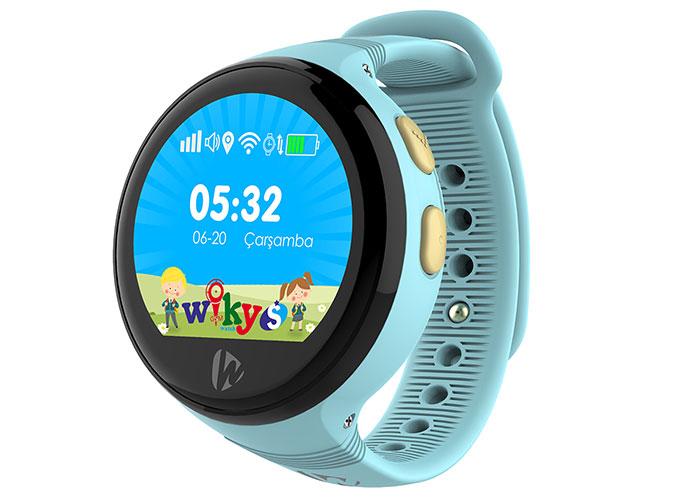 Wiky Watch S Telefon + Gps Özellikli Mavi Akıllı Çocuk Saati