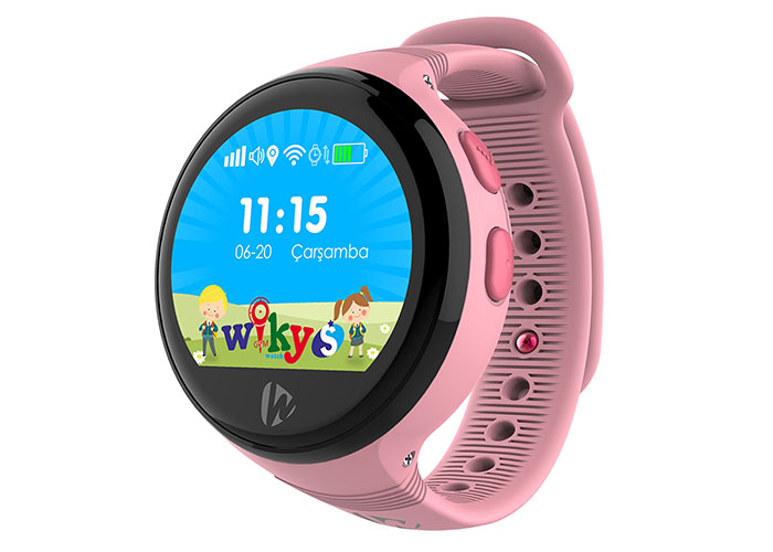 Wiky Watch S Telefon + Gps Özellikli Pembe Akıllı Çocuk Saati