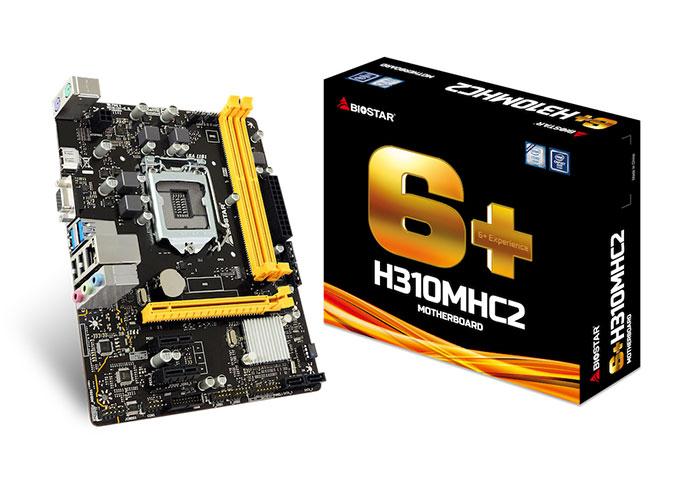 Biostar M/B, H310MHC2 Intel LGA1151P DDR4 Anakart
