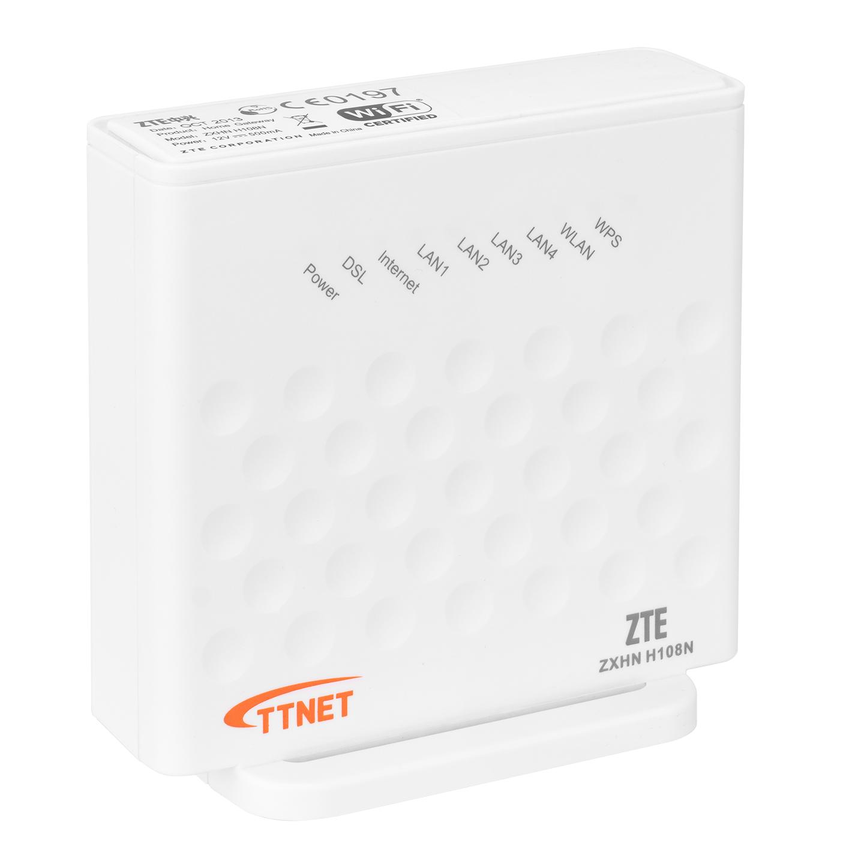 Zte ZXHN H108N Usb+Ethernet 4 Port 300Mbps Kablosuz Adsl 2+ Modem Router