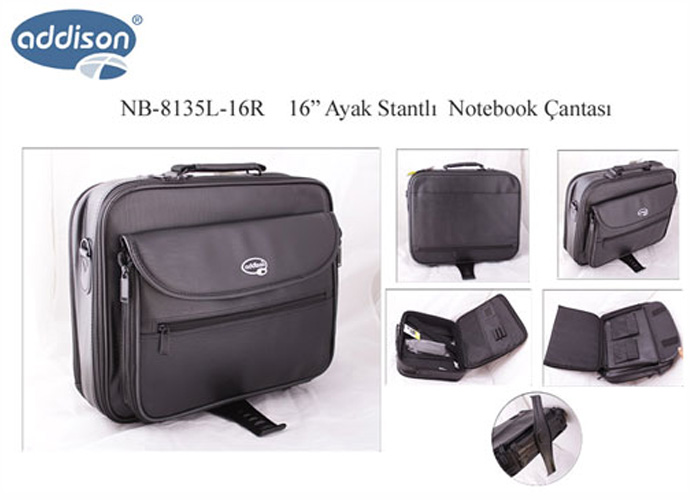 Addison NB-8135L-16R 16 Foot Stand Computer Notebook Bag