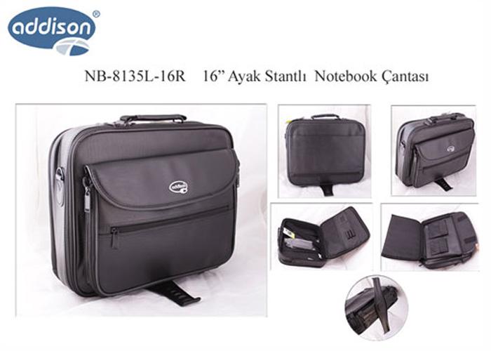 Addison NB-8135L-16R 16 Ayak Standlı Bilgisayar Notebook Çantası