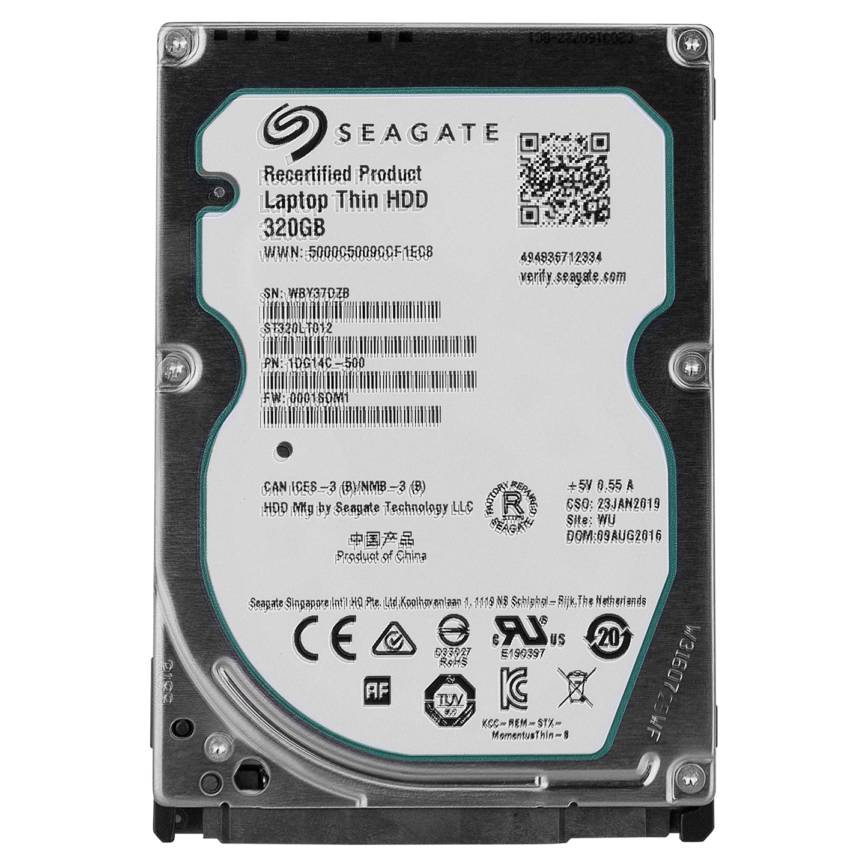 Seagate ST320LT012 320GB 5400 RPM 16 MB Cache 2.5 SATA HDD