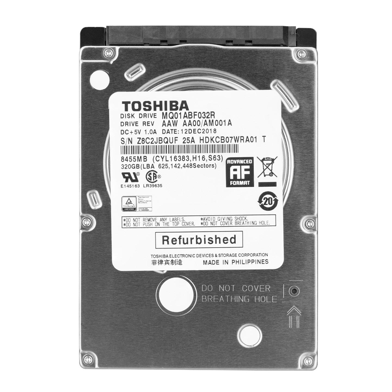 Toshiba MQ01ABF032R 320GB 5400 RPM 8Mb 2.5 6GB/s SATA HDD
