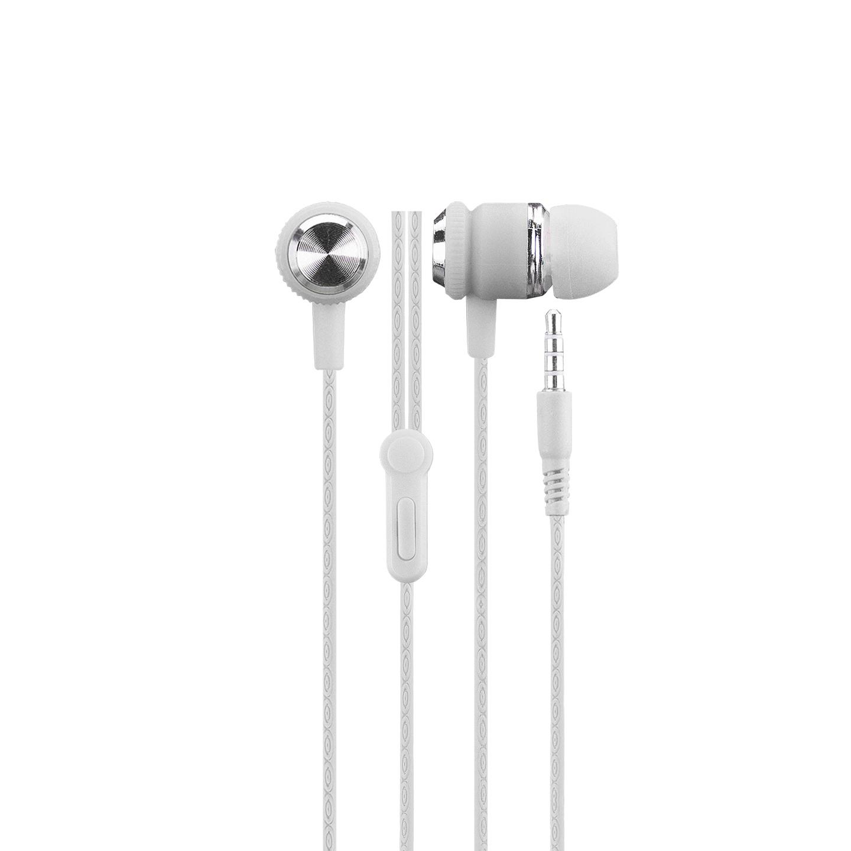 Hytech HY-XK24 Mobil Telefon Uyumlu Kulak içi Beyaz/Gümüş Mikrofonlu Kulaklık
