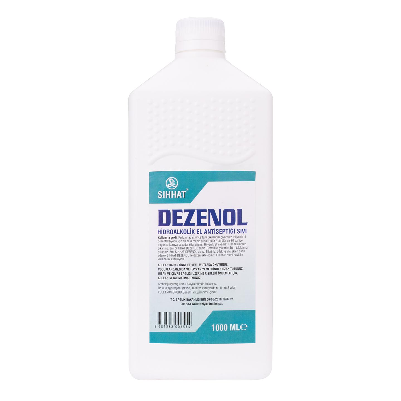 Dezenol Hidrolakolik 1LT El Antiseptiği Sıvı Dezenfekte