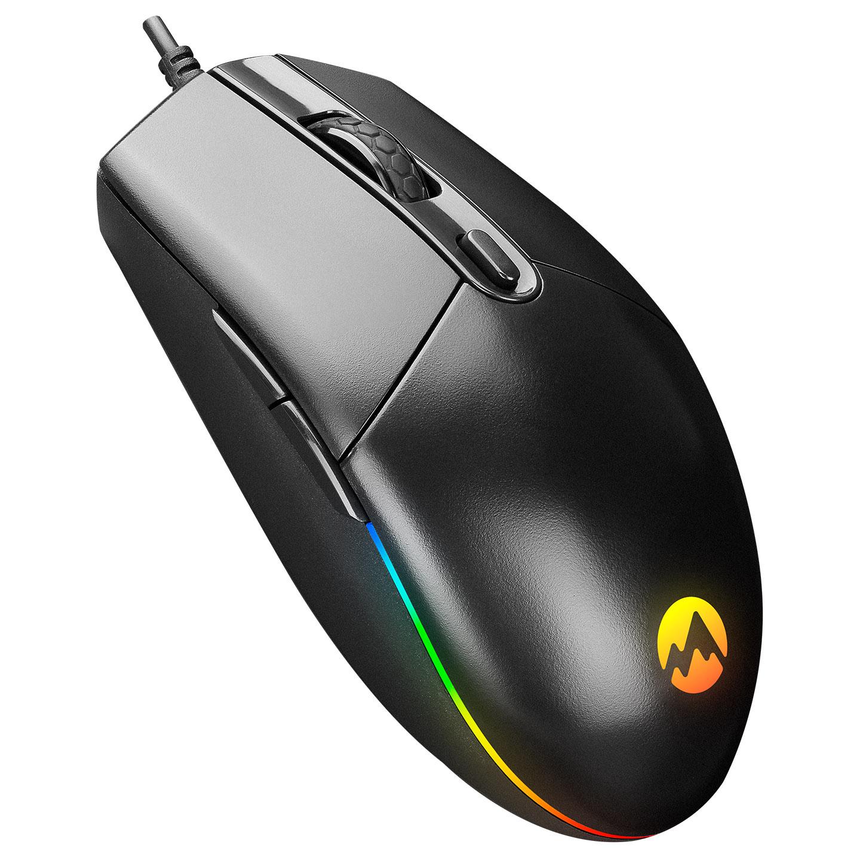 Everest SM-X97 R-STAR Usb 5 Tuşlu RGB Işıklı 6400dpi Gaming Oyuncu Mouse