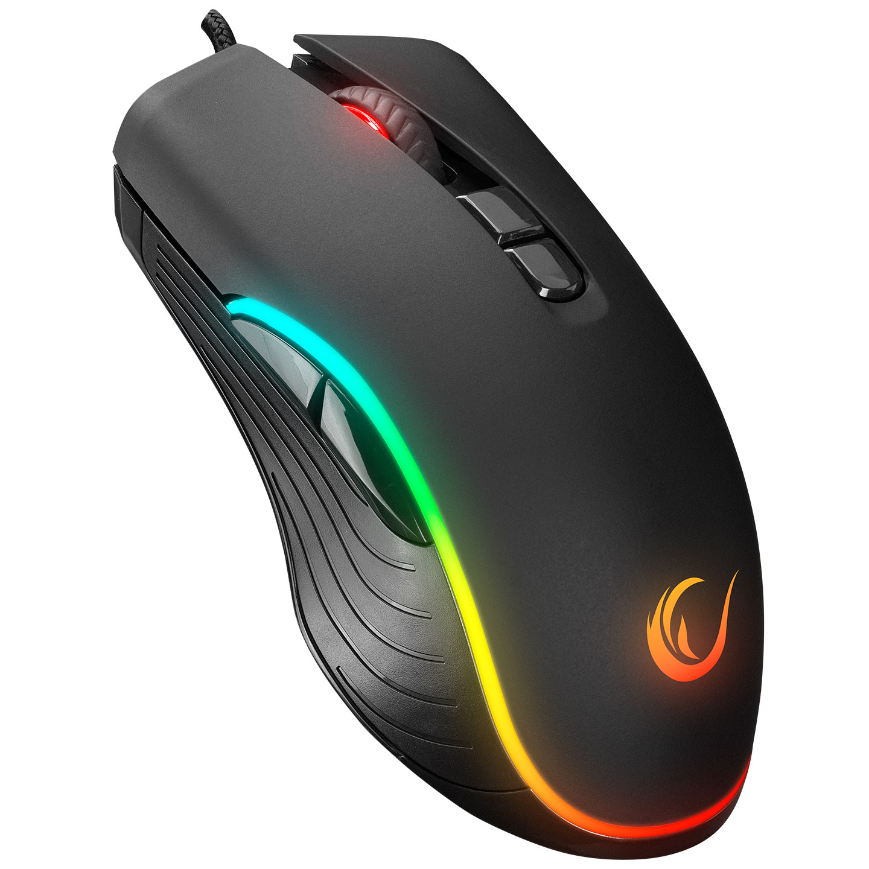 Rampage SMX-R120 SLASH 7200dpi RGB Ledli Gaming Oyuncu Mouse