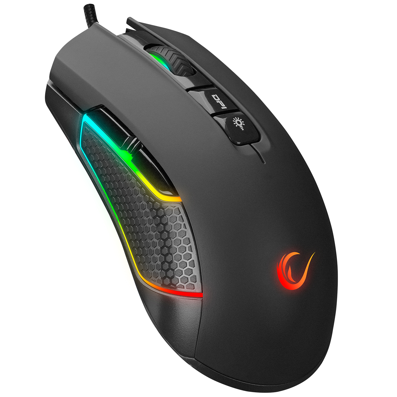 Rampage SMX-R600 PYTHON Usb Siyah 12400dpi Gaming Oyuncu Mouse
