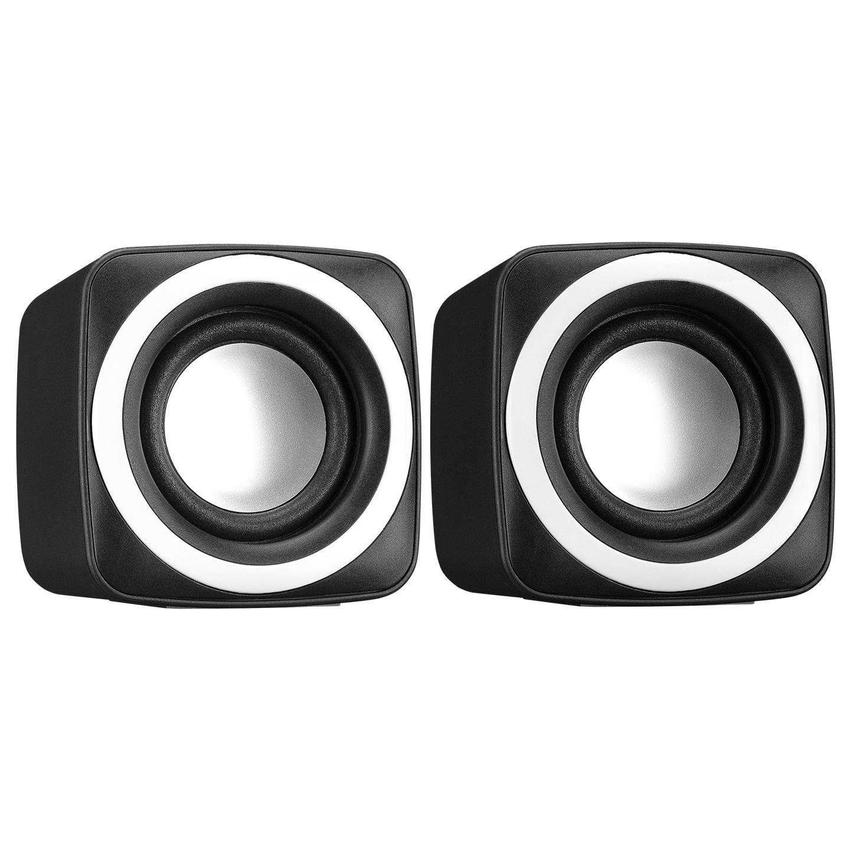 Snopy SN-C5 2.0 Multimedia USB 5V 3W*2 Siyah Speaker