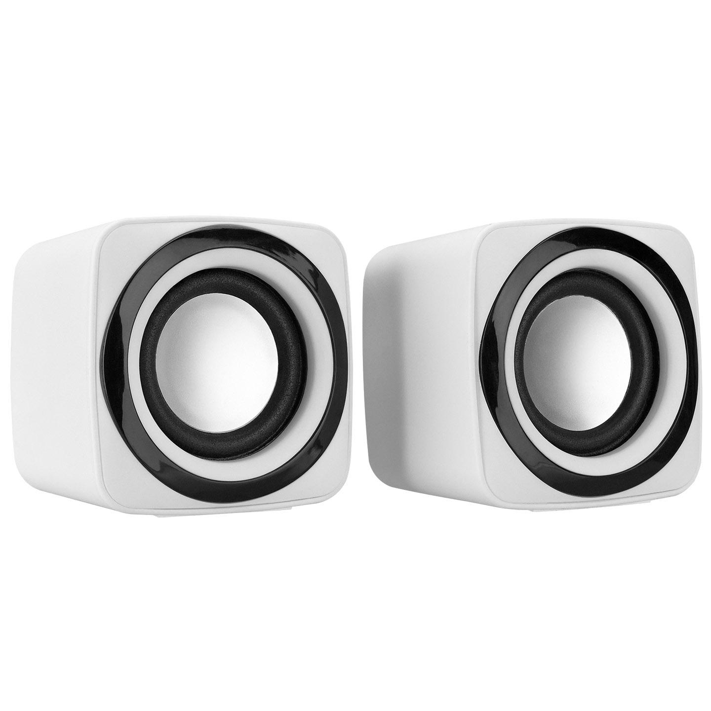 Snopy SN-C5 2.0 Multimedia USB 5V 3W*2 Beyaz Speaker