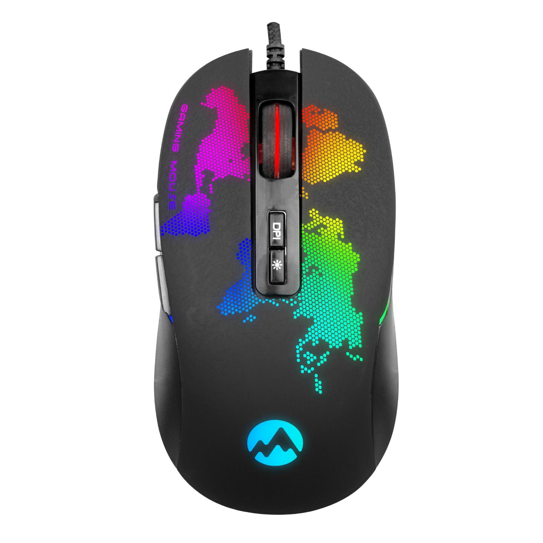 Everest GX69 JAVELIN Usb Siyah RGB Ledli 7D Optik Gaming Oyuncu Mouse