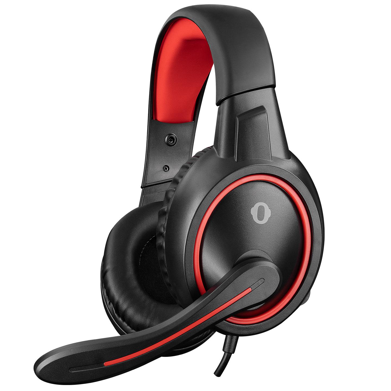 Snopy SN-GX1 ERGO Siyah/kırmızı 3,5mm Gaming Oyuncu Mikrofonlu Kulaklık