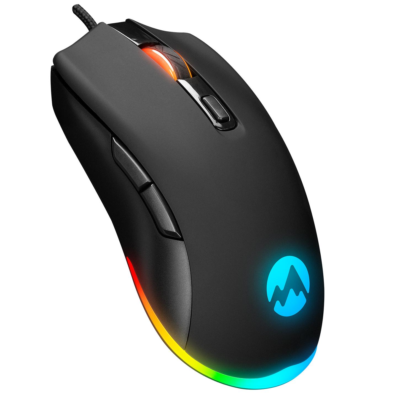 Everest SGM-L1 LUMOS Usb Siyah 6400 Dpi Gaming Oyuncu Mouse