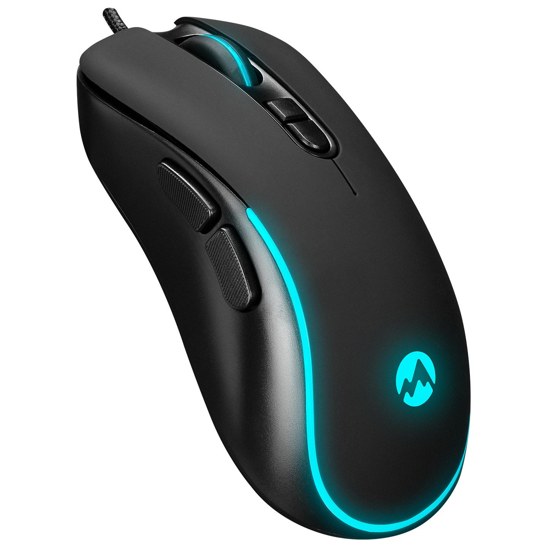 Everest SM-G58 X-HAMMER Usb Siyah 7D Optik 7200dpi LED Işıklı Gaming Oyuncu Mouse