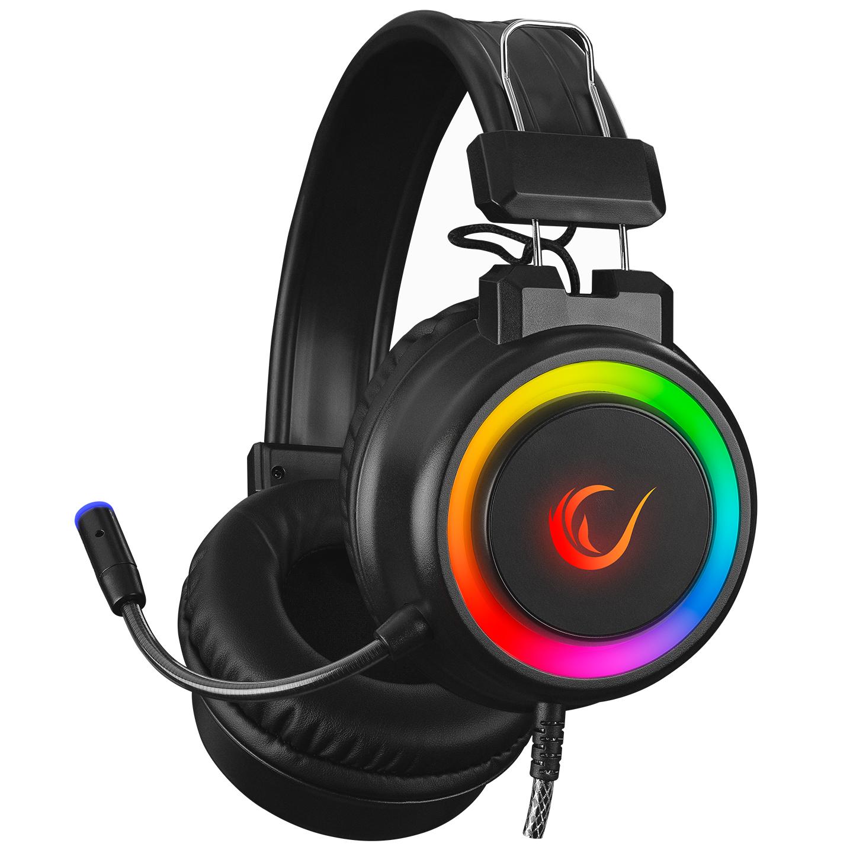 Rampage SN-R10 ALQUIST Siyah 3,5mm RGB Gaming Oyuncu Mikrofonlu Kulaklık