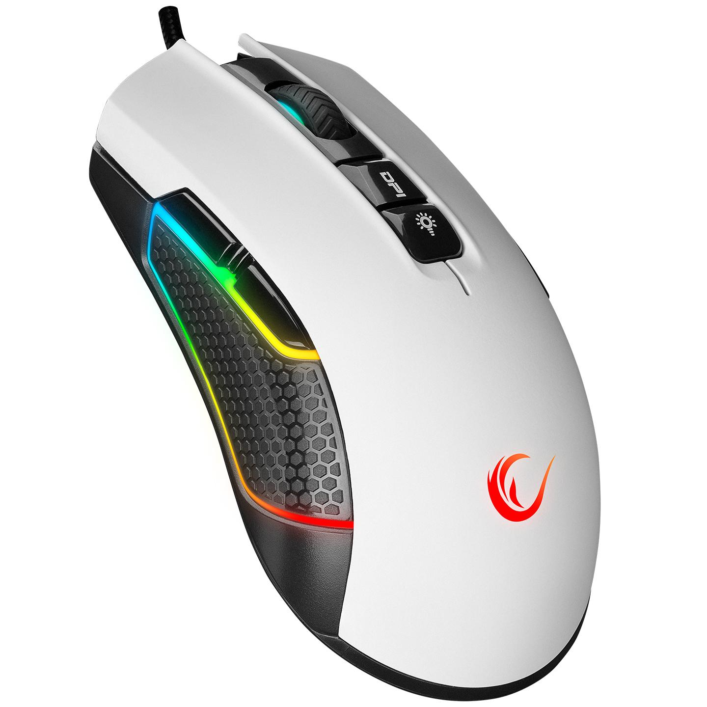 Rampage SMX-R600 PYTHON Usb Beyaz 12400dpi Gaming Oyuncu Mouse