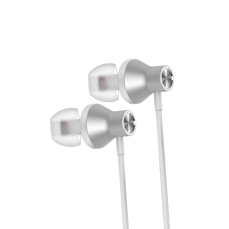 NCT PLUS+ NCT-70W Mobil Telefon Uyumlu Metal Kulak içi Beyaz Mikrofonlu Kulaklık