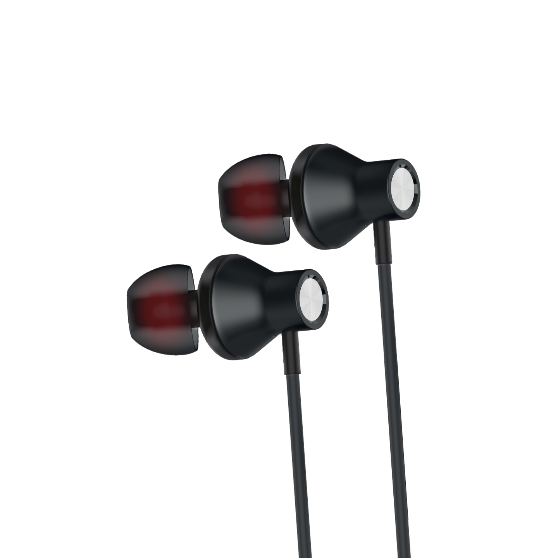 NCT PLUS+ NCT-70B Mobil Telefon Uyumlu Metal Kulak içi Siyah Mikrofonlu Kulaklık