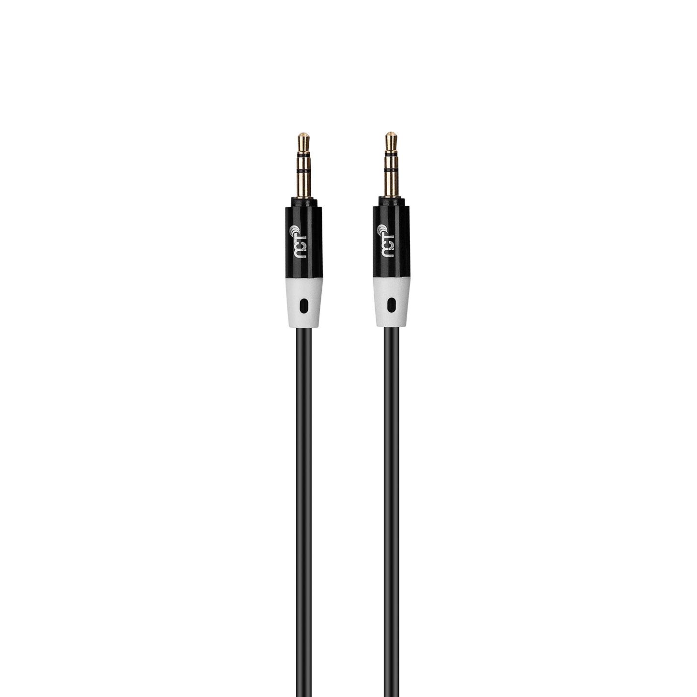 NCT PLUS+ NCT-N40B 1m Siyah 3.5mm Stereo Ses Kablosu