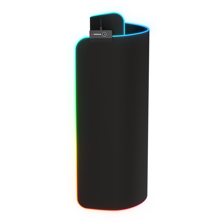 Rampage MP-21 Siyah 252*328*3mm RGB Ledli Gaming Mouse Pad