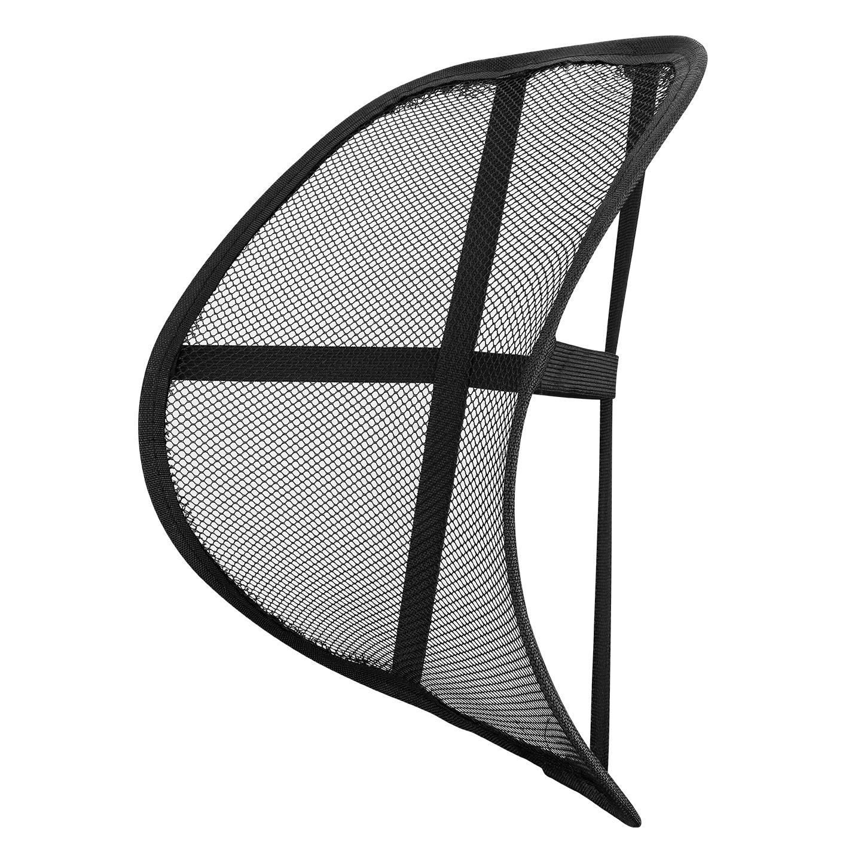 Asonic AS-A21 Siyah Sırt Dayanmalı Ortopedik Oto Bel Desteği