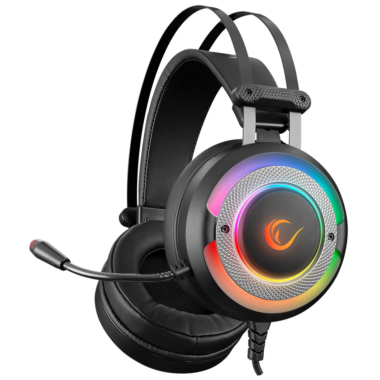 Rampage G7 X-RUNNER Siyah RGB Led 7.1 Gaming Mikrofonlu Oyuncu Kulaklığı