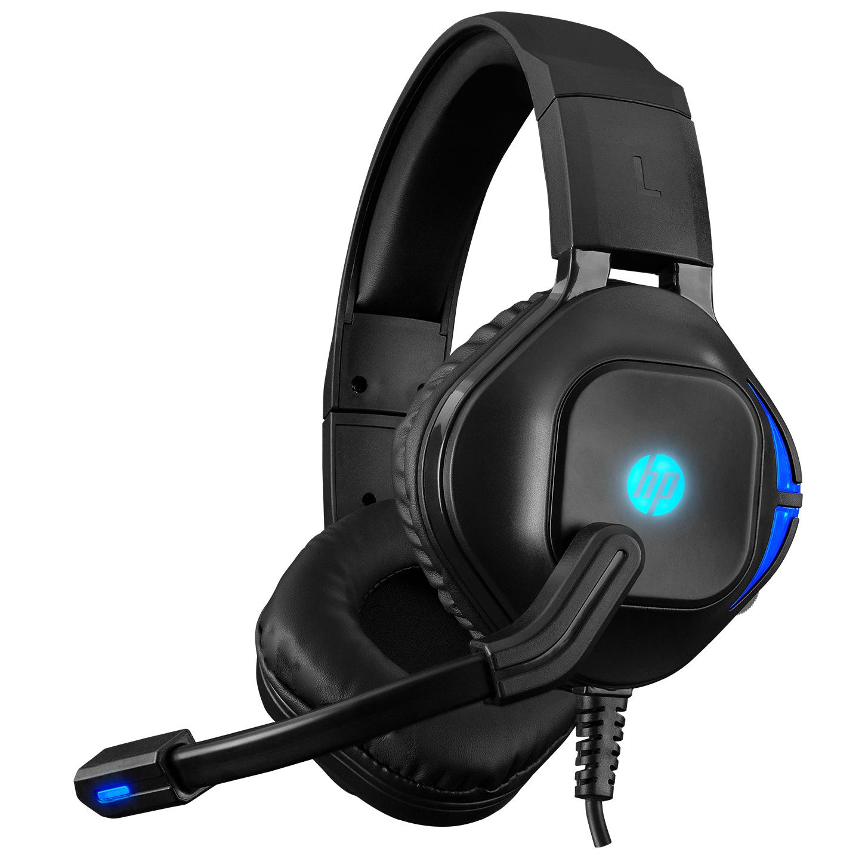 HP DHE-8002 Siyah Gaming Oyuncu Mikrofonlu Kulaklık