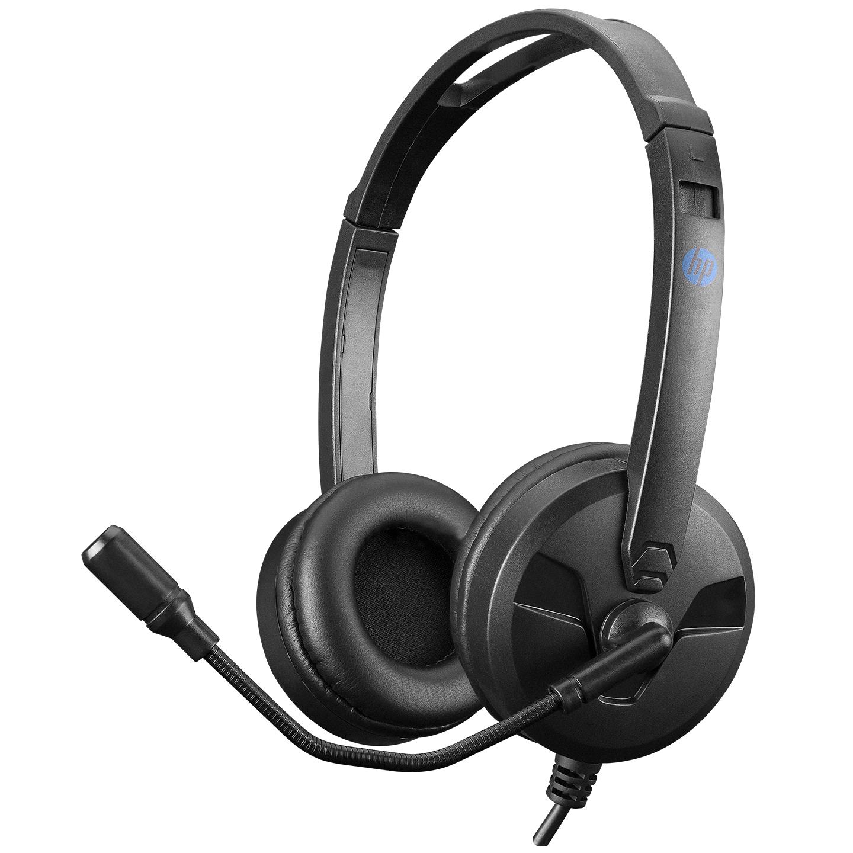 HP DHE-8009 Siyah Mikrofonlu Kulaklık