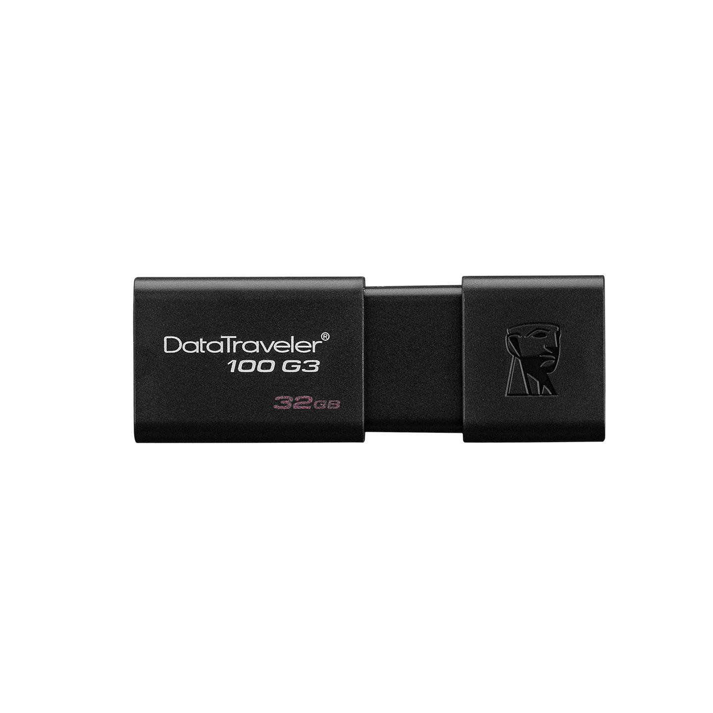 Kingston DT100G3-32GB 32GB USB 3.0 Flash Driver Bellek