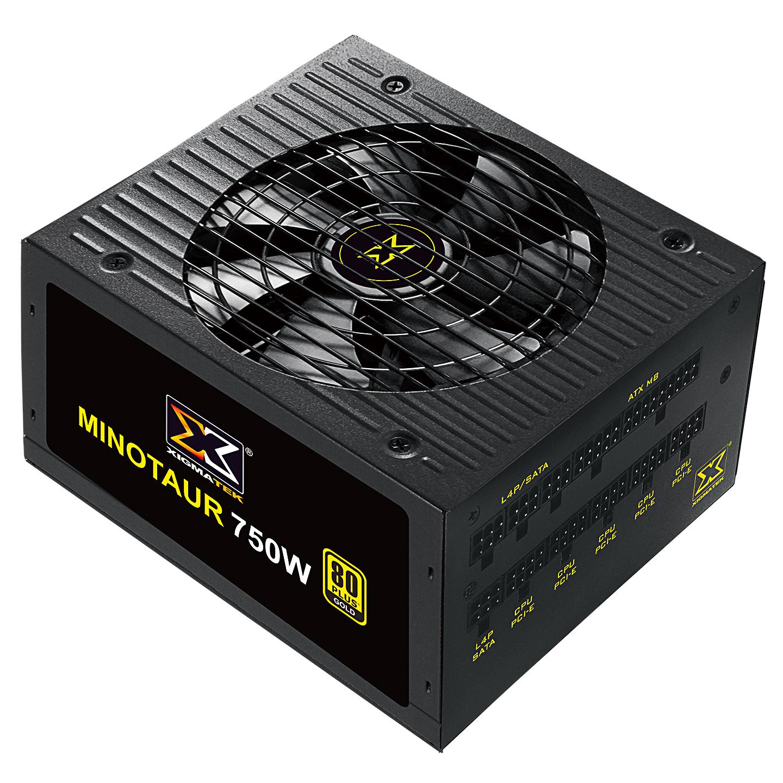 Xigmatek EN44627 MINOTAUR Full Range 750W 80Plus Gold Full Modular 12cm Fan Power Supply