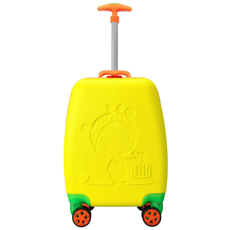 Addison ADS-410 Sarı Çocuk Valizi