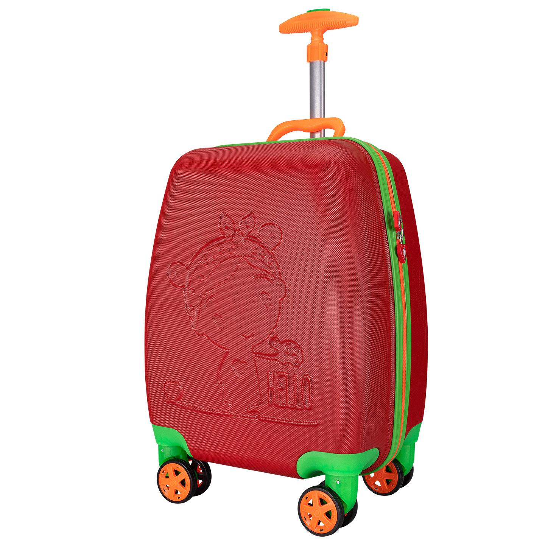 Addison ADS-410 Kırmızı Kız Çocuk Valizi