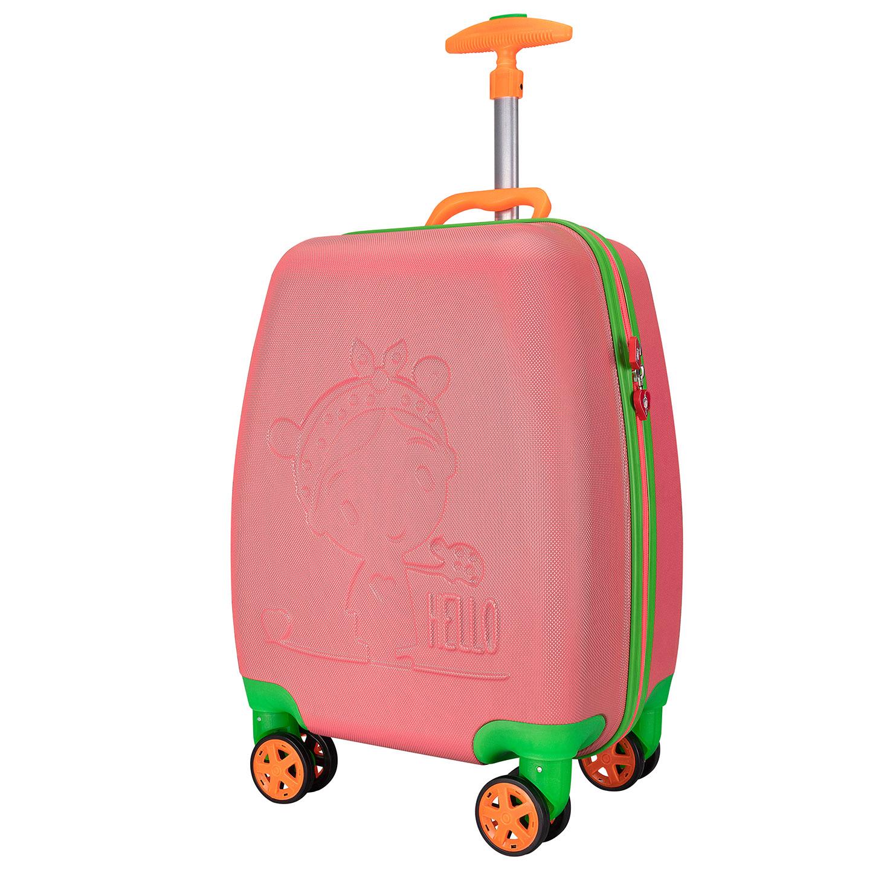 Addison ADS-410 Turuncu Kız Çocuk Valizi