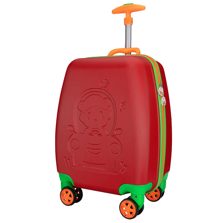 Addison ADS-411 Kırmızı Erkek Çocuk Valizi