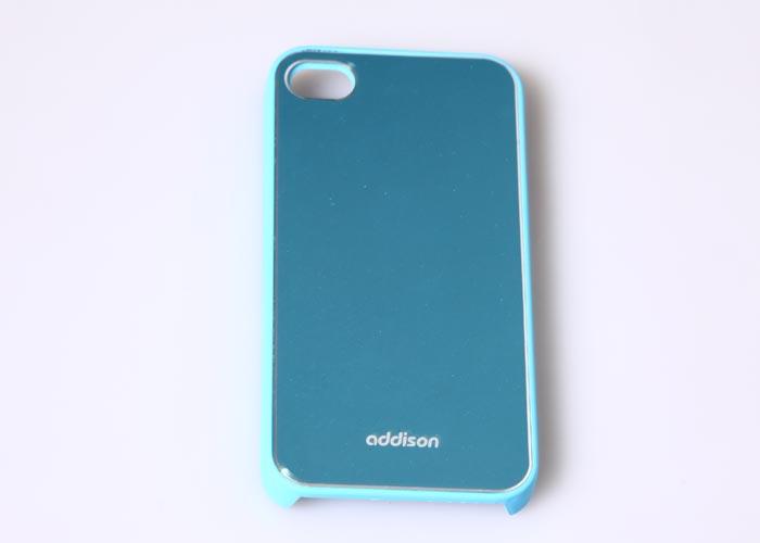 Addison IP-400 Mavi Iphone 4, 4S Kılıfı + Şeffaf Ekran Koruyucu