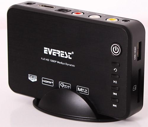 Everest HDM-455 Harici Full HD Medya Oynatıcı