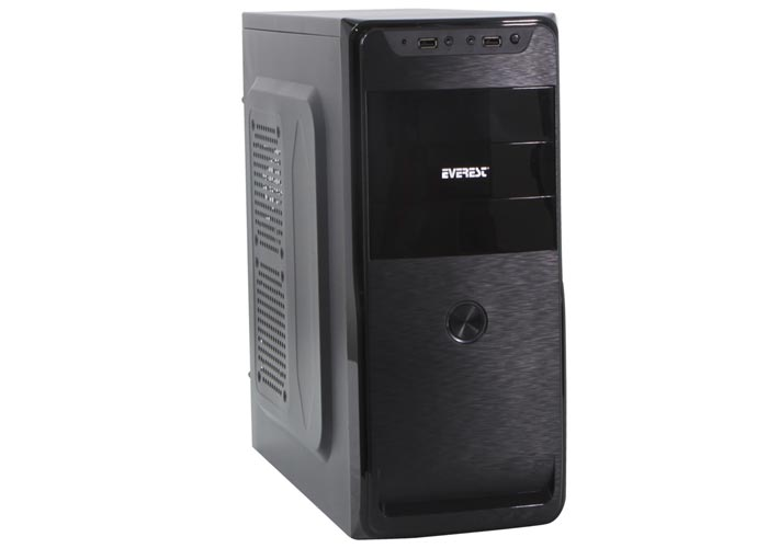 Everest 803B Peak Power 250W Siyah Usb2.0 + Ses + Mik. Kasa