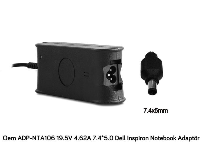 Oem ADP-NTA106 19V 4.74A 7.4*5.0 HP Compaq Notebook Standart Adaptör