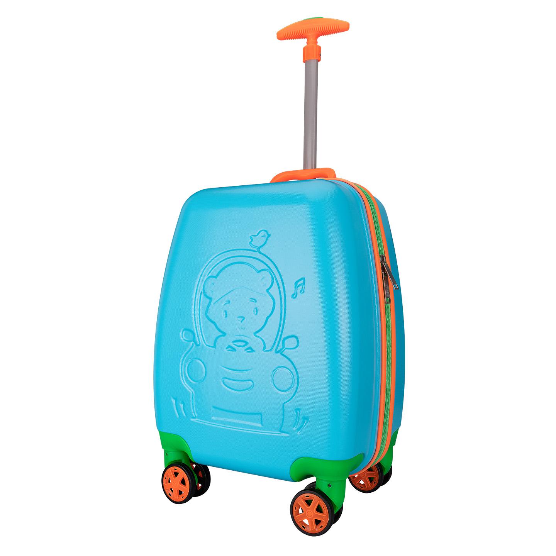 Addison ADS-411 Mavi Çocuk Valizi