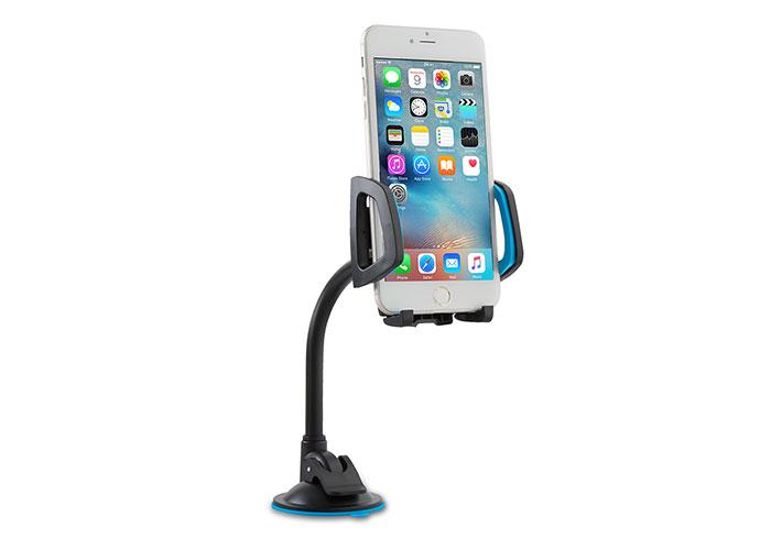Addison ADS-119 Universal Ayarlanabilir Siyah/Mavi Araç Telefon Tutucu