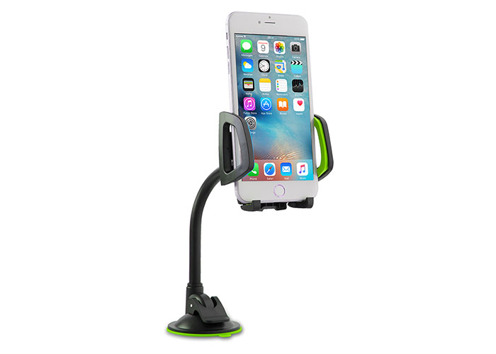Addison ADS-119 Universal Adjustable Black / Green Car Phone Holder