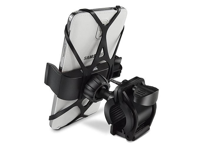 Addison ADS-120 Universal Ayarlanabilir Siyah Bisiklet  Motosiklet Telefon Tutucu