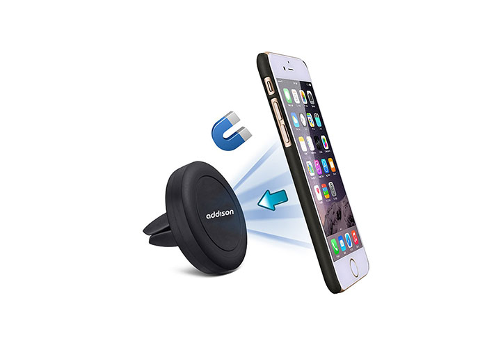 Addison ADS-133 Universal Mıknatıslı Siyah Araç Telefon Tutucu