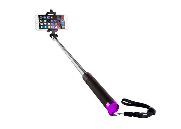 Addison AD-S32 Kablolu Siyah/Pembe Selfie Çekim Çubuğu